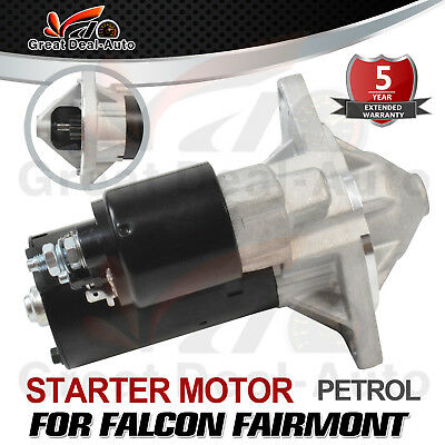 Starter Motor Fit for Ford Falcon Fairmont Fairlane Territory 6 Cyl 1965-2011