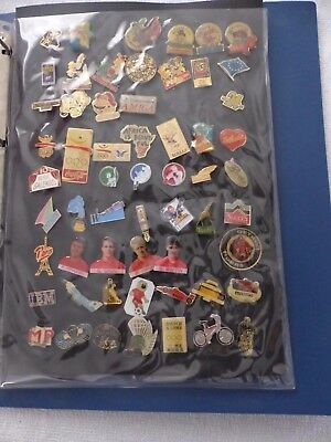 Lot 3 : 58 Pin's De Collection - Rare