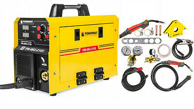 Weld Machine MIG / MAG / TIG  / MMA-LCD-Inverter CO2-New Model