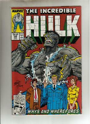 The Incredible Hulk #346 - August 1988