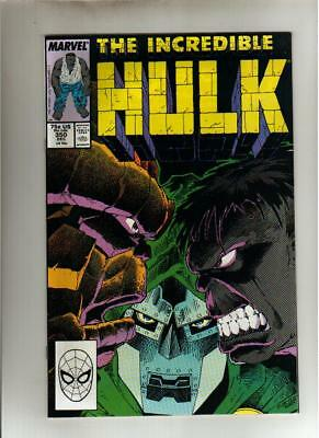The Incredible Hulk #350 - December 1988
