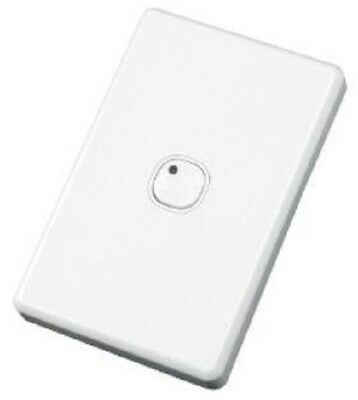 Clipsal C2000 SERIES C-BUS WALL SWITCH 18mA 15-36V DC 1-Gang Programmable, White