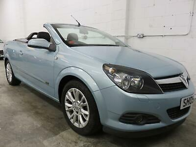 Vauxhall/Opel Astra 1.6 2008.5MY Twin Top Sport blue convertible
