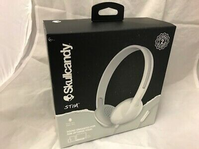 Skullcandy SCS2LHY-K569 Stim On-Ear Wired Headphones With In-Line Microphone 91a