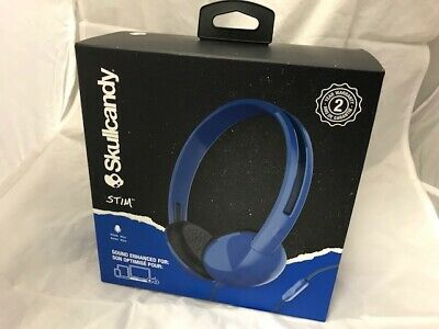 Skullcandy SCS2LHY-K569 Stim On-Ear Wired Headphones With In-Line Microphone 91b