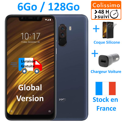 NEUF Pocophone F1 Bleu - 6Go / 128 Go - 💛 Colissimo 48H + ⚡Chargeur voiture⚡