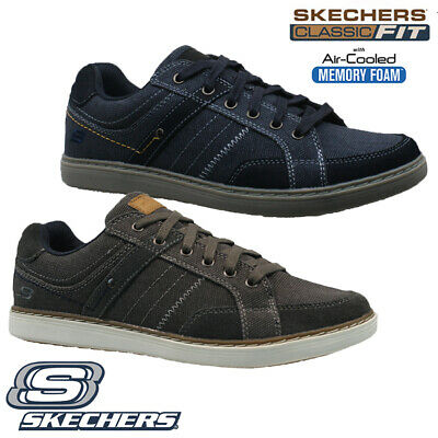 Mens Skechers Classic Fit Air Cooled Memory Foam Walking Trainers Shoes Size