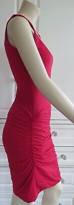 RRP£135 - BNWT - VELVET by GRAHAM & SPENCER red stretch dress - M / UK10-12