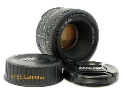 Nikon Af Nikkor 50Mm F1.8 D Fast Prime Lens *excellent Condition*