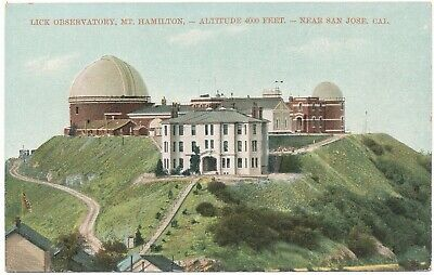 Lick Observatory Mt Hamilton San Jose California Unused Postcard