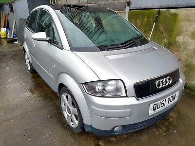 Audi A2 for spares or repairs
