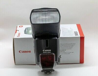 Canon Speedlite 580EX Shoe Mount Flash - With case and boxed with instructions