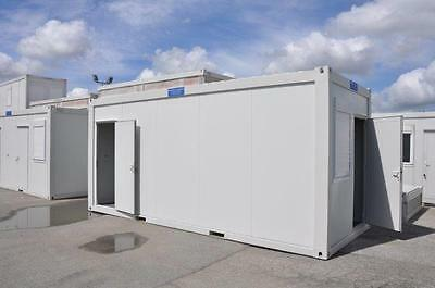 Portable Building New  20' x 8' Office & Toilet