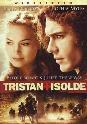 TRISTAN + ISOLDE JAMES FRANCO SOPHIA MYLES RUFUS SEWELL (dvd disc only..no case)