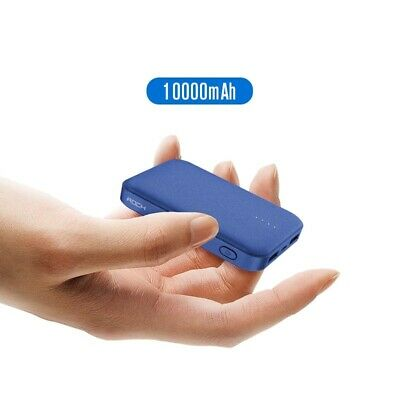 Mini Power Bank 10000mAh External Battery Charger Portable Charger Dual USB Powe