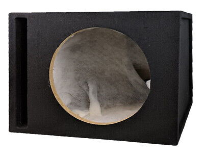 """15"""" Inch heavy duty Single Ported Black Carpeted Car Subwoofer MDF Box New!!!!"""