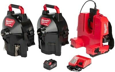 Milwaukee M18 18-Volt Brushless Cordless Drain Cleaning 5/8 in Drum System