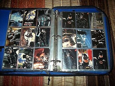 Batman 0Lder Trading Cards In Hd Binder Over 220+ Full Color Collectible Cards!