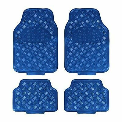 Toyota Yaris (2011-Date) 4 Piece Heavy Duty Titan Blue Metallic Look Car Mats