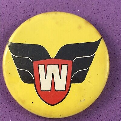 Vintage Warlord Comic Pin Badge (see Pics)