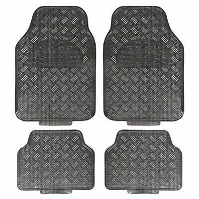 Toyota Yaris (2011-Date) 4 Piece Heavy Duty Titan Carbon Metallic Look Car Mats