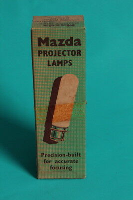 Vintage/Retro Mazda PROJECTOR LAMP A1/154 (pre 1960) - BRAND NEW BOXED OLD STOCK