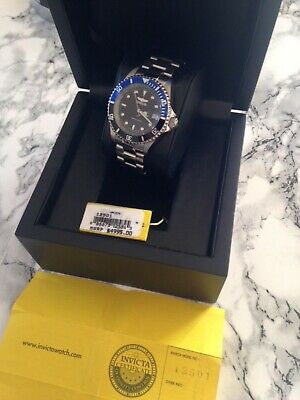 INVICTA LIMITED SWISS MADE LUXUS PRO DIVER AUTOMATIK UVP 4.995 US Dollar