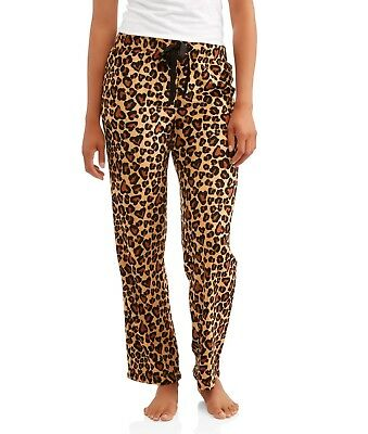 f37e8c8d13c NWT SECRET TREASURES Plus 3X Animal Print Super Minky Plush Pajama Lounge  Pants