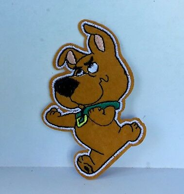 Retro Scooby Doo Scrappy Character Embroidered Appliqué Patch Sew Iron On #426