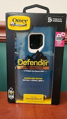 OtterBox Defender Samsung Galaxy S9 Hard Case w/Holster Belt Clip TEAL