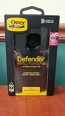OtterBox Defender Samsung Galaxy S9 Hard Case w/Holster Belt Clip Black!