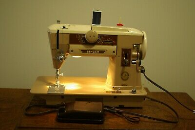 Singer 401A sewing machine from the 1950's