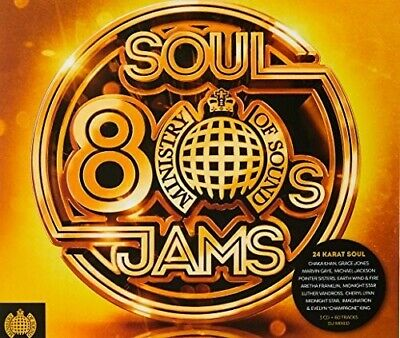 Ministry Of Sound: 80s Soul Jams - Various Artist (2018, CD NEUF)3 DISC SET 190