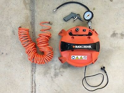 Compressore Portatile Black & Decker Con Accessori
