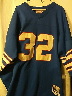 fcd3eb1b6 OJ Simpson Mitchell And Ness NFL Authentic Buffalo Bills Throwback Jersey  Blue 5