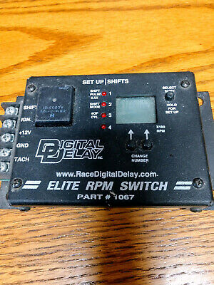 Digital Delay Elite RPM Switch #1067