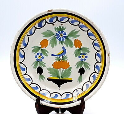 French Faience late 18th century plate