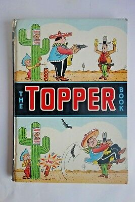 Vintage 1965 Topper Book Annual Thomson Inscribed