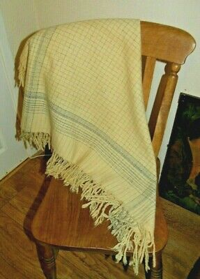 Antique Small Welsh Wool Shawl St David's Day Costume?