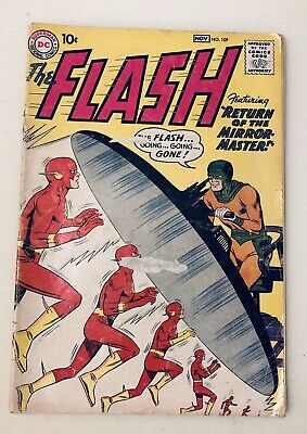 DC Comics The Flash #109 Silver Age 2nd Appearance Mirror Master