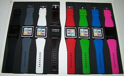 iWatchz Apple iPod nano 6th generation collection 8 hochwertige Armbänder Set