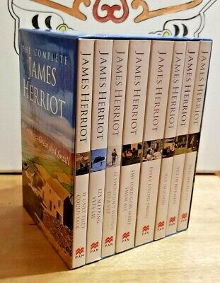 The Complete James Herriot, All Creatures Great And Small, 8 Books Unread.