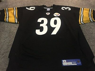 """NFL Pittsburg Steelers #39 Willie Parker Jersey- Size 48"""""""