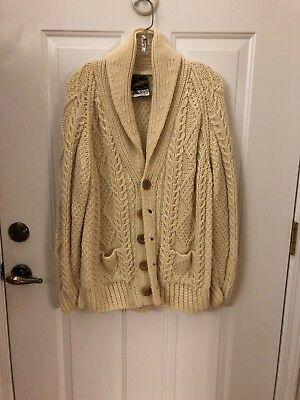 100% Pure Wool handknit Sweater From Ireland