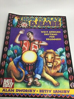 How To Play Djembe African Rythym Drumming Book Plus CD Q3