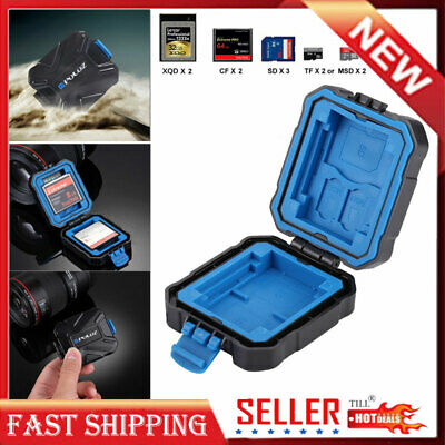 Waterproof Holder Storage Memory Card Case Micro SD Cover Box Protector TF CF