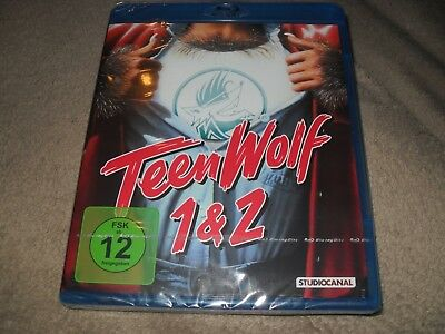 Teen Wolf 1 and 2 Two-Disc German Set Region B (READ DETAILS!) BRAND NEW Blu-ray