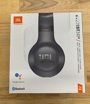 JBL Everest 310 Wireless On-Ear Headphones-Black-Excellent