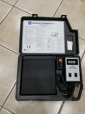 TIF 9010 Electronic Charging Scale HVAC Refrigerant Recovery