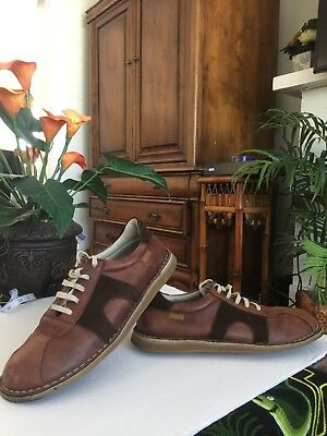 bb74943de34 Camper leather shoes Sz 9.5  42 brown made in portugal SF mens crafted  casual SF